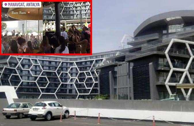 SON DAKİKA... Antalya'da tepkiye neden olan görüntülerin çekildiği 5 yıldızlı otel kapatıldı!