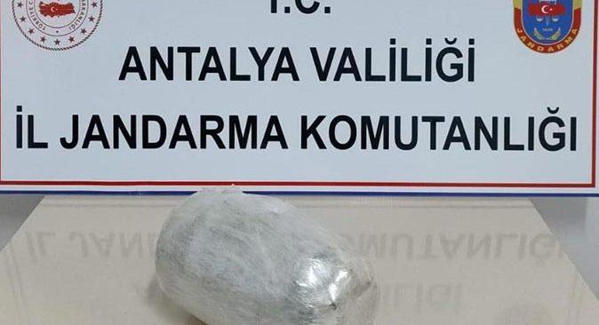 Antalya'ya giden yolcu otobüsünde yakalandı! Gözaltına alındı