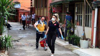 52 yaşındaki Emin Bayrakçı pansiyon odasında ölü bulundu