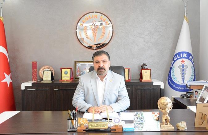 Sağlık-Sen Antalya Şube Başkanı Sinan Kuluöztürk: Aynı ev içinde yaşadığımız tüm yakınlarımız aşılansın