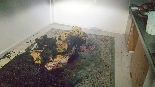 Antalya'da apartmanda çıkan yangın paniğe sebep oldu