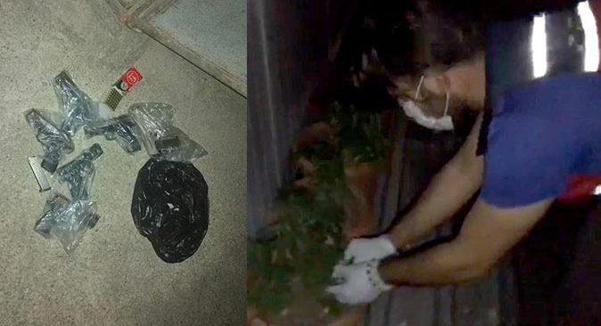 Antalya'da silah kaçakçısına nefes kesen operasyon
