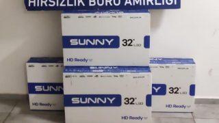 Antalya'da televizyon hırsızları tutuklandı