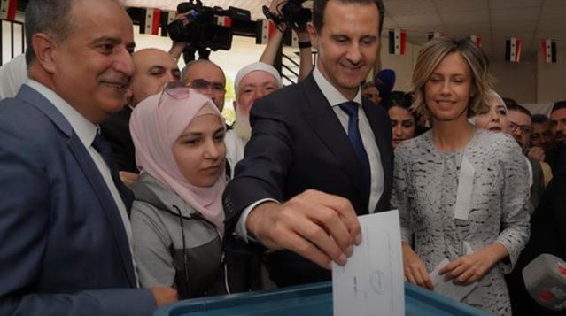 Suriye seçimlerini Beşşar Esed kazandı