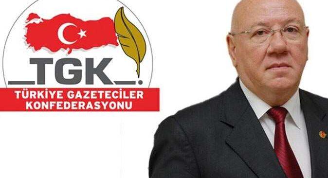 Türkiye Gazeteciler Konfederasyonu'ndan basın özgürlüğü çağrısı