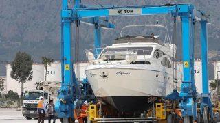 Antalya'da 560 tonluk vinç yatırımı, lüks yat siparişlerini hareketlendirdi