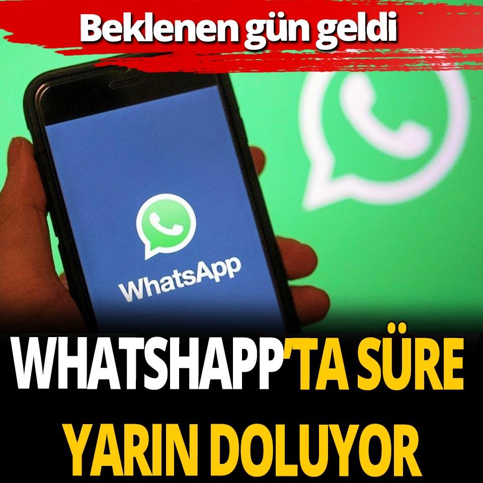 WhatshApp gizlilik sözleşmesinde son gün yarın! Bundan sonra ne olacak