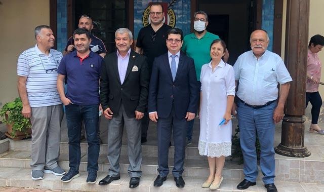 Antalya Valiliği İl Sivil Toplumla İlişkiler Müdürü Kurtay'dan AGC'ye ziyaret