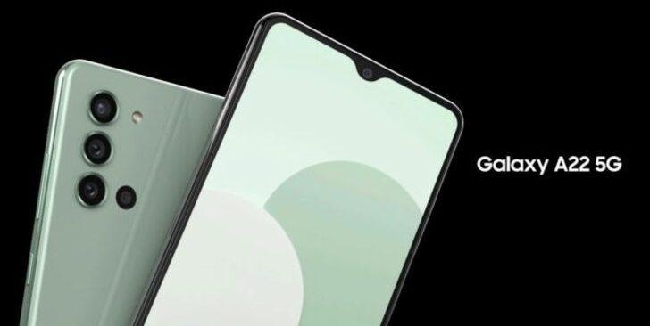 Samsung Galaxy A22 detaylandı