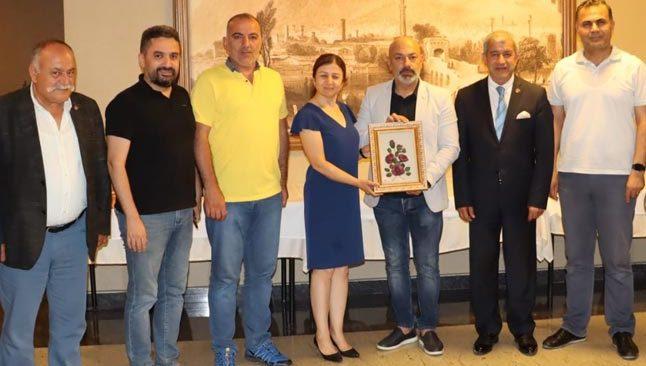 AGF'den Doğu Akdeniz Cemiyetlerine anlamı ziyaret