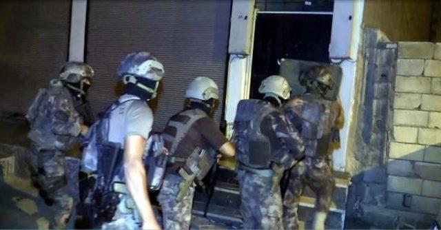 Cumhuriyet tarihinin en büyük narkotik operasyonu: 253 gözaltı