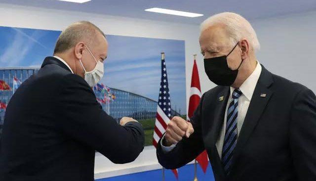 Son dakika! Cumhurbaşkanı Erdoğan-Biden görüşmesi sona erdi