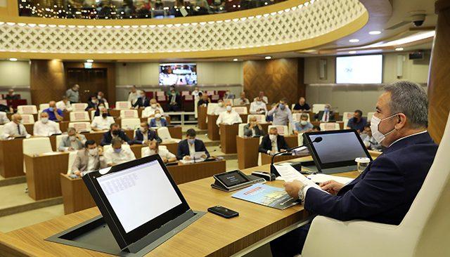 Büyükşehir Meclisi 97 madde ile toplandı! Ulaşım esnafına yakıt desteği devam edecek