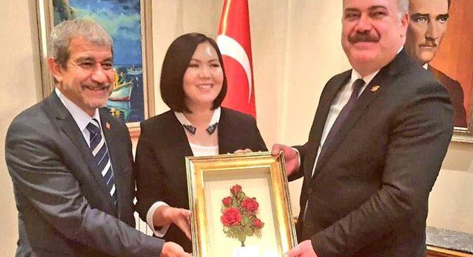 Alanya kozası Kırgızistan'da tanıtıldı