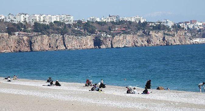 Antalya'da hava 2 ila 4 derece artacak