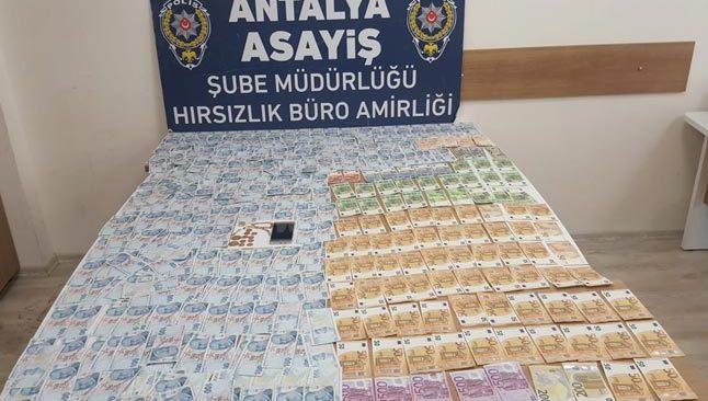 Antalya'da yabancı uyruklu hırsız yakalandı