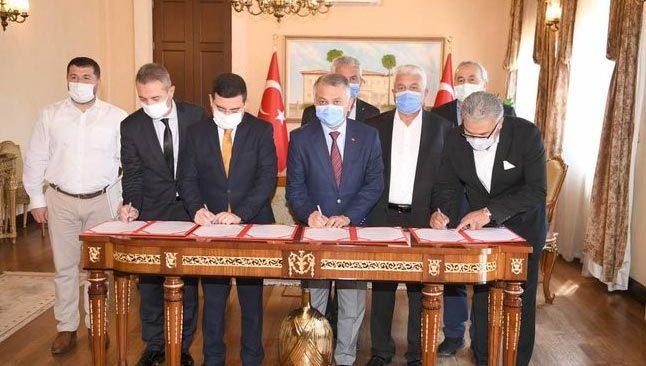 Kepez'de yapılacak olan ilkokul için protokol imzalandı