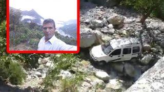 Araç uçuruma yuvarlandı! Osman Kozak hayatını kaybetti