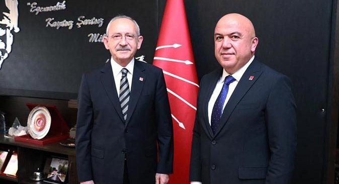 Başkan Nuri Cengiz CHP lideri Kemal Kılıçdaroğlu ile görüştü
