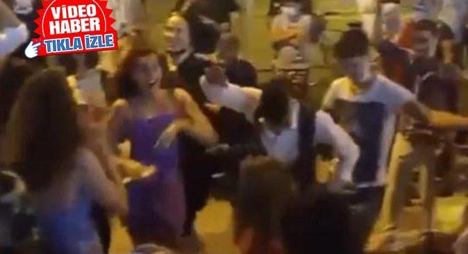Antalya'nın göbeğinde korona partisi!