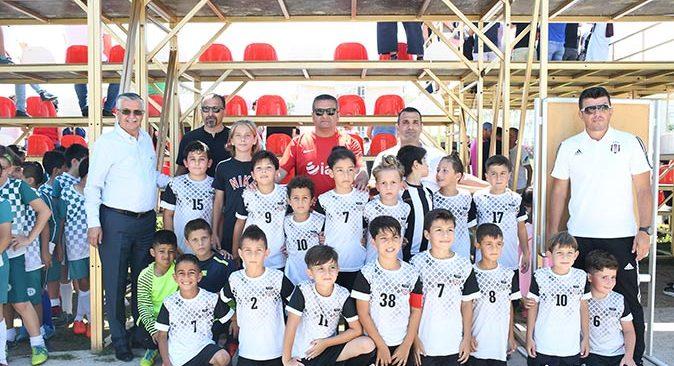 Başkan Necati Topaloğlu, Daima Kemer Cup Futbol Turnuvasına katıldı