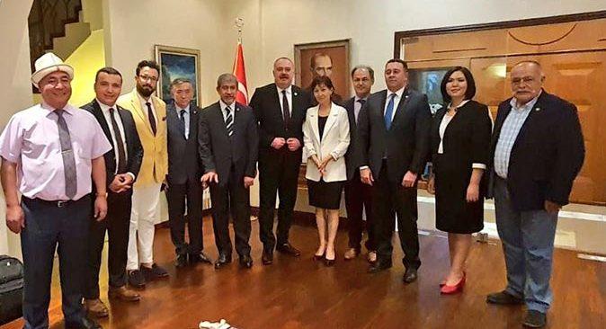 TGK ve AGC önderliğindeki heyetten Kırgızistan'da önemli ziyaretler