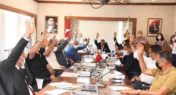 Kemer Belediyesi Haziran ayı meclis toplantısı yapıldı