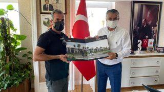 İsmail Kaya'dan Başkan Necati Topaloğlu'na ziyaret