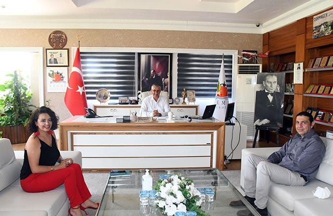 Anadolu Hastanesi Direktörü Kerem Aktuğ, Kemer Belediyesi'nde