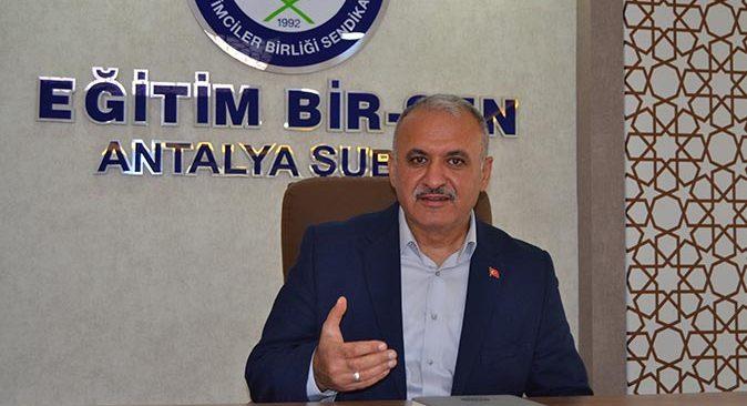 Başkan Eyüp Bülent Miran'dan seyyanen zam ve 40 bin ek öğretmen ataması talebi