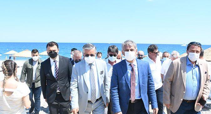 Mavi bayraklı Çamyuva Halk Plajı açıldı