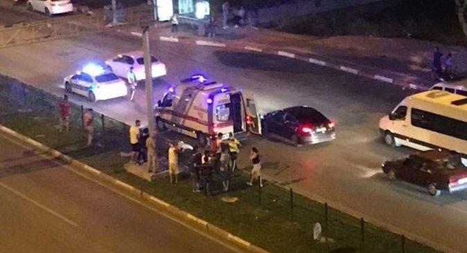 Antalya'daki motosiklet kazası baba oğlu ayırdı