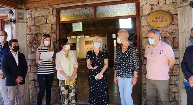 Akdeniz Üniversitesi'nde Patara Öğretim Elemanları Sergisi açıldı