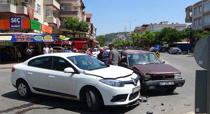 Antalya'da kararsızlık kazaya neden oldu