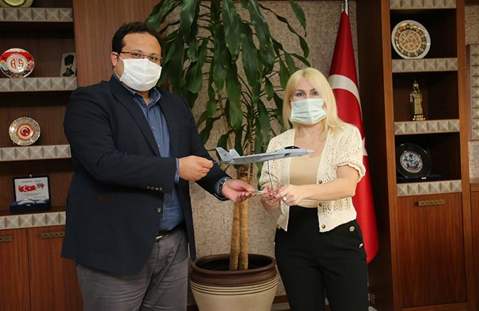 Akdeniz Üniversitesi Antalya Teknokent ile TUSAŞ arasında sözleşme imzalandı
