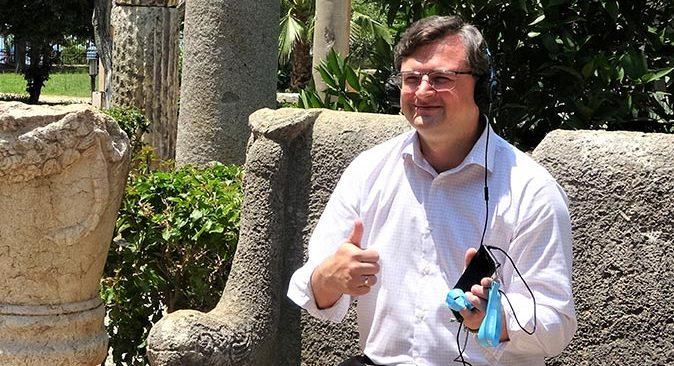 Ukrayna Dışişleri Bakanı Dmitro Kuleba: Antalya'da en fazla turistin Ukrayna'dan olduğunu öğrendim