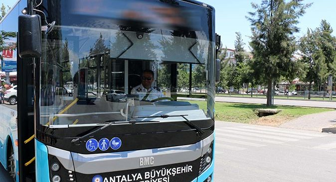 Antalya'da toplu ulaşımda yeni hatlar oluşturuldu