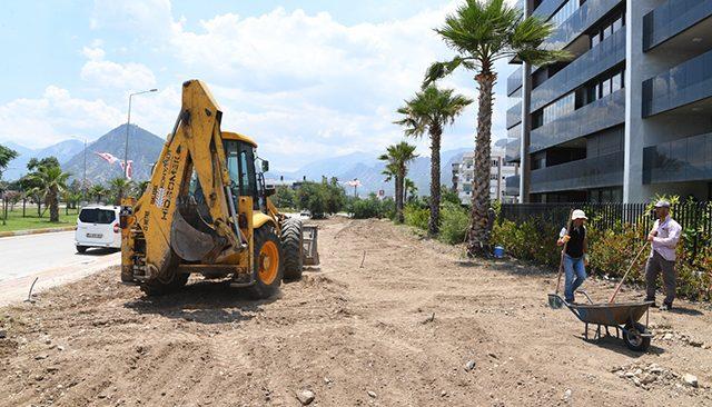 Konyaaltı Belediyesi'nden yeni park