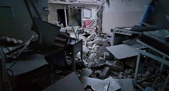 Son dakika.... PKK'dan Afrin'de hastaneye hain saldırdı