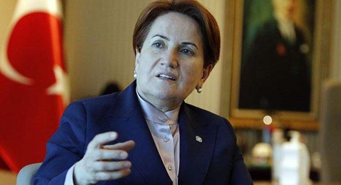İYİ Parti Genel Başkanı Meral Akşener: Ortak bir adayla gidilmeli