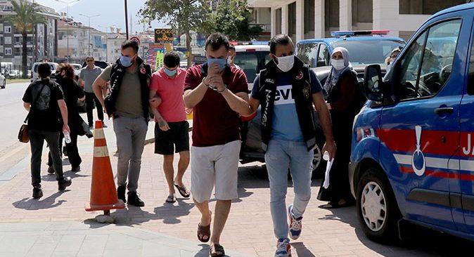 Alanya'da uyuşturucu operasyonu! Gözaltına alındılar