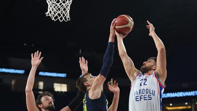 Son Dakika: Basketbol Süper Ligi'nde şampiyon Anadolu Efes