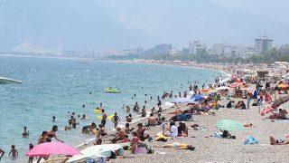 Antalya'da sıcaklık arttı! Termometreler 43'ü gösterdi