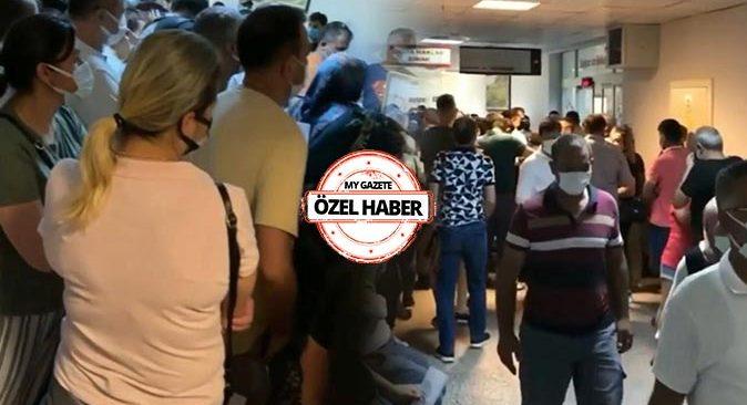 Antalya Eğitim ve Araştırma Hastanesi'nde aşı mağduriyeti! Vatandaşlar isyan etti