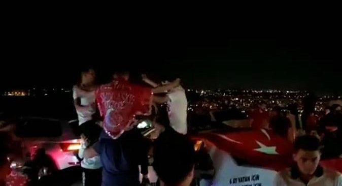 Antalya'daki asker eğlencesinde 'pes' dedirten görüntüler