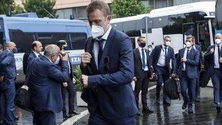 A Milli Futbol Takımı, İtalya'da