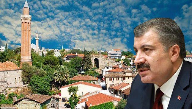 Son dakika! Bakan Koca, açıkladı! Antalya'da sevindiren düşüş...