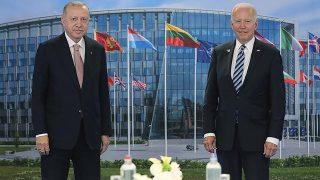 Son Dakika: Cumhurbaşkanı Erdoğan ile Biden'ın görüşmesi sona erdi