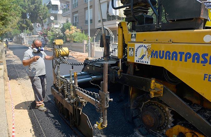 Üçgen Mahallesi'nde çalışmalar son sürat devam ediyor