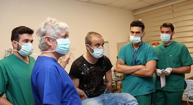 Türkiye'nin 5'inci çift kol nakli Yavuz Ayılmazdır'a yapıldı